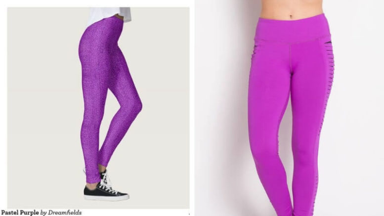17 Purple Leggings For People Who Live By The Color