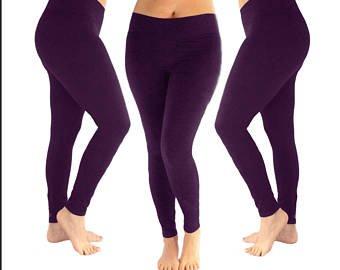 Purple leggings   Etsy