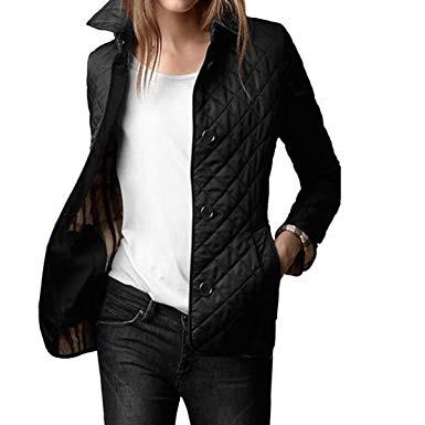 Entertain elegant quilted jacket women