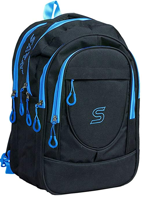 SARA 30 Liters Polyester Black School Bag: Amazon.in: Bags, Wallets