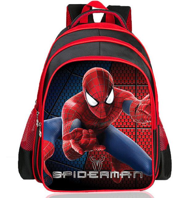 New Arrivals 2018 Boys School Bags Cartoon 3D Spiderman Children