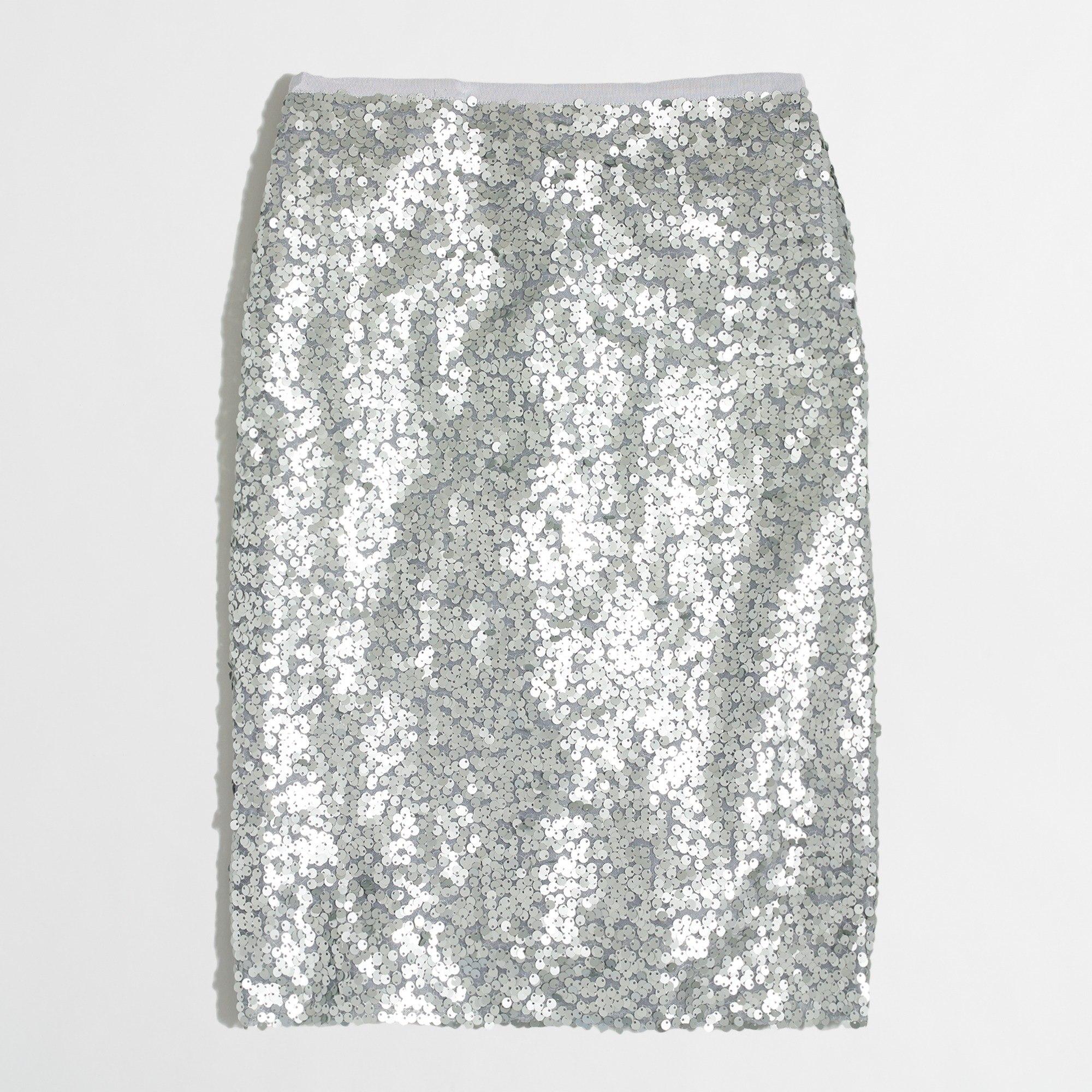 Sequin pencil skirt : FactoryWomen pencil | Factory