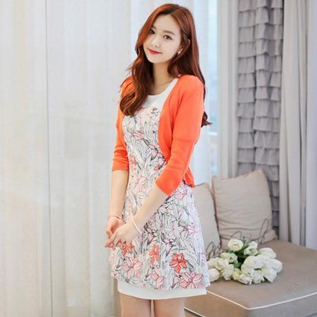 Summer Shrug Women Short Cardigan for Dresses Korean Autumn Women