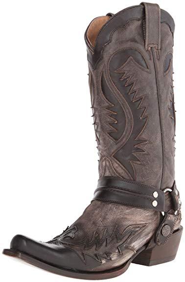 Amazon.com   Stetson Men's Snip Toe Harness W/ Bleach Boot   Western