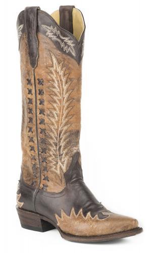 STETSON WOMEN'S MORGAN Cowboy Boots