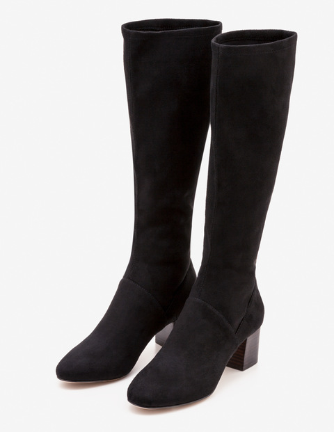 Round Toe Stretch Boots A0283 Boots at Boden