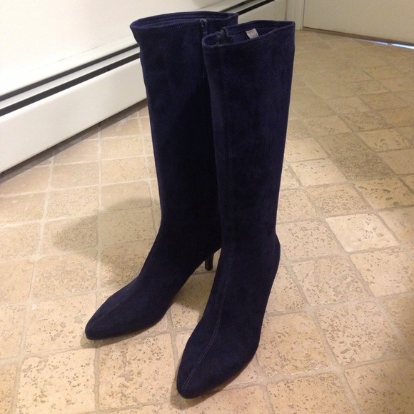 impo Shoes   Stretch Boots Norris Midnight Blue   Poshmark
