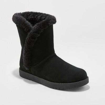 Women's Daniah Suede Winter Boots - Universal Thread™ : Target