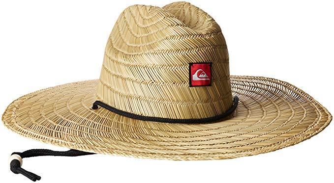 Amazon.com: Quiksilver Men's Pierside Straw Sun Hat: Clothing
