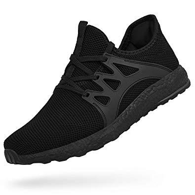 Amazon.com   Feetmat Men's Tennis Shoes Slip On Knit Walking Running