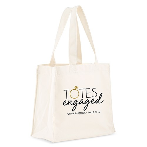 Tote Bags | Personalized Engagement Gift - The Knot Shop