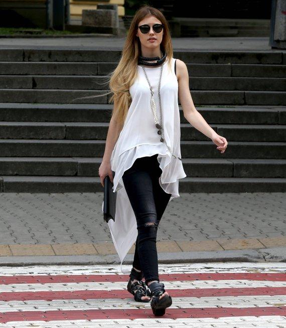 White Tunic Top Women Asymmetrical Top Minimalist Top   Etsy