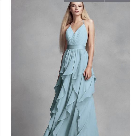 vera wang Dresses | Mist Color Bridesmaid Dress Never Worn | Poshmark