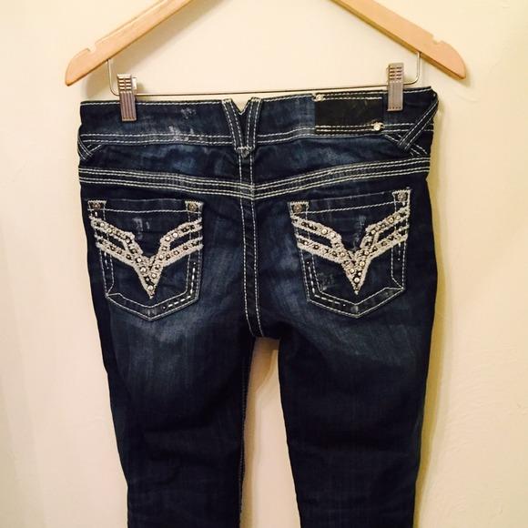 Vigoss Jeans   Sale Bling Boot Cut   Poshmark