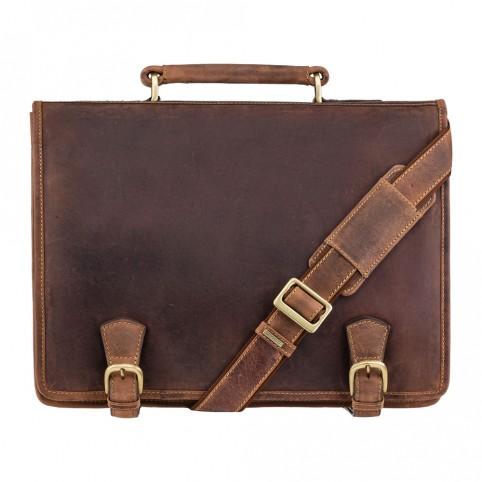 Hulk- Large Multi Compartment Briefcase - Visconti Bags