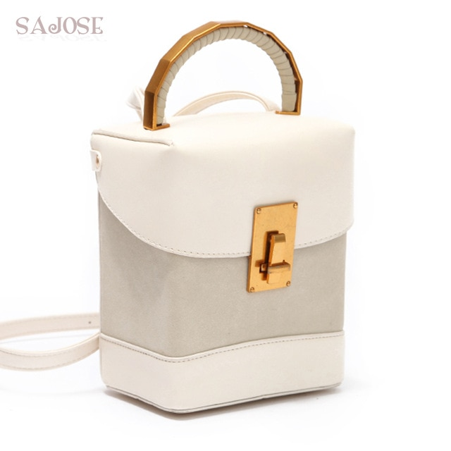 Crossbody Bags For Women Fashion PU Leather Simple Box Type