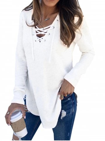 White Tops - Free Shipping, Discount and Cheap Sale | Rosegal.com