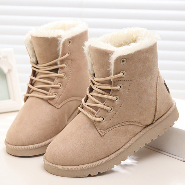 Warm yourself with winter boots for women