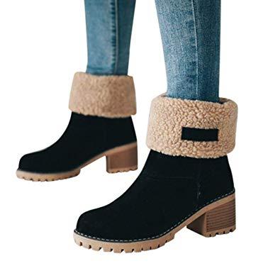 Amazon.com: Memela Hot Item!!Ladies Winter Shoes Short Ankle Winter