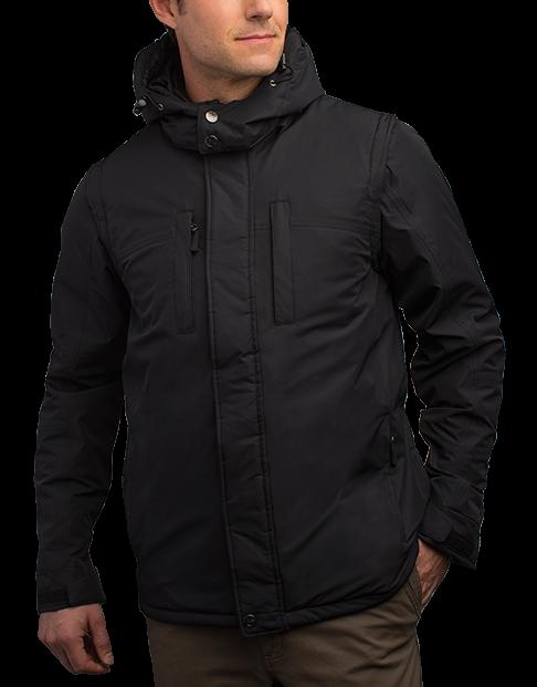 Men's Insulated Winter Coat - SCOTTeVEST