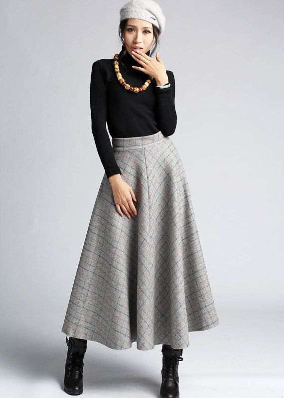 Style Files: Winter Skirts   The Boottique Blog   Pinterest   Winter