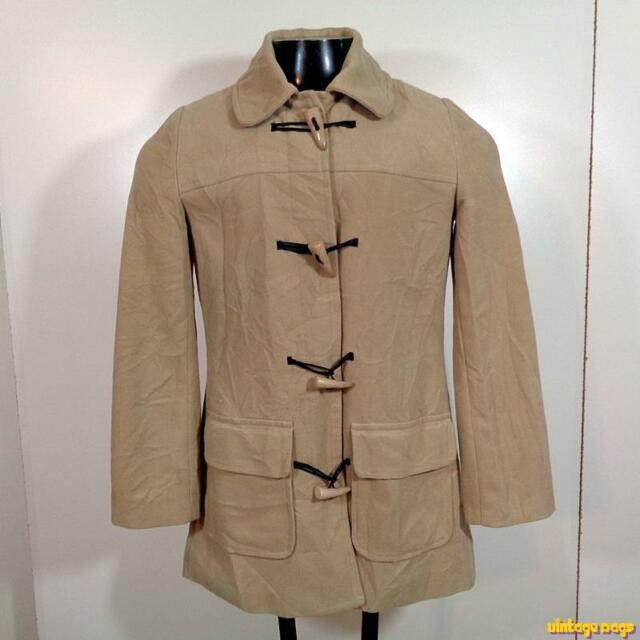 VALLEYGIRL Polyester/Wool Jacket DUFFLE COAT Womens Size 8 Beige | eBay