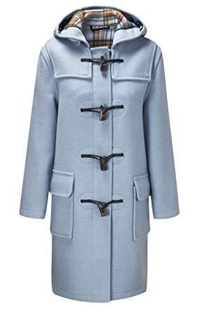 Amazon.com: Original Montgomery Womens Duffle Coat - Baby Blue Size