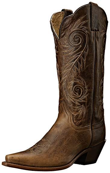 Amazon.com | Justin Boots Women's Classic Western Boot Narrow Square