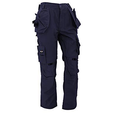 Amazon.com: Herock Mens Dagan Premium Work Trousers/Pants (38) (Navy