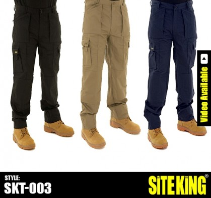 Work Trousers - Workwear Trousers - Work Clothes | Site King