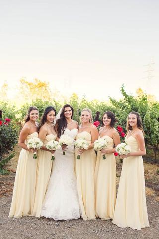 cheap bridesmaid dress, long bridesmaid dress, chiffon bridesmaid