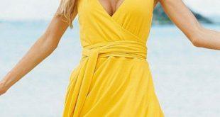 Yellow Sensational Sundresses For Women - Sensational Sundresses For