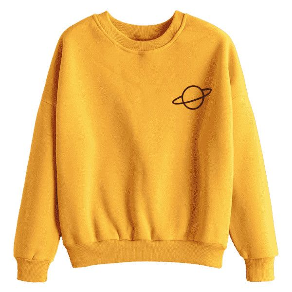 Saturn Yellow Sweatshirt