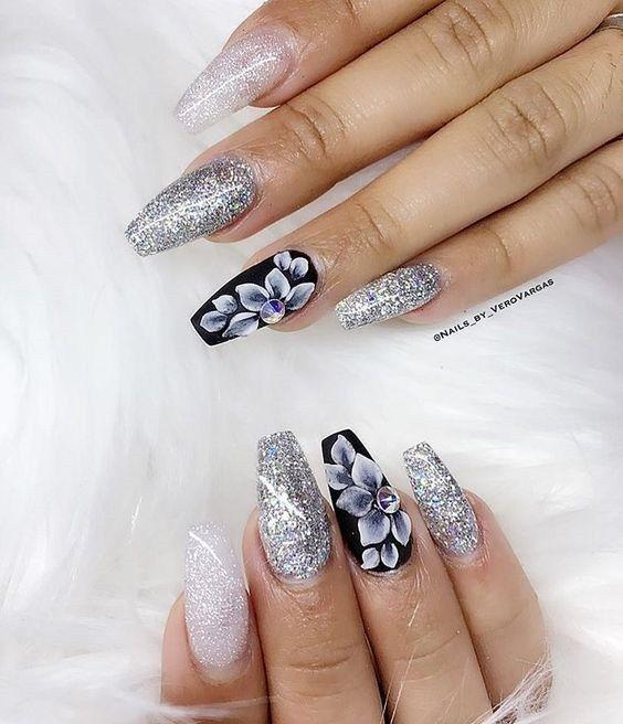 25 Latest and elegant 3D nail art design ideas - Top Fashion   3d .