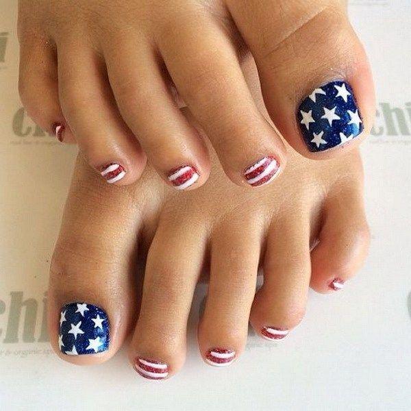 50+ Pretty Toe Nail Art Ideas - For Creative Juice   Pretty toe .