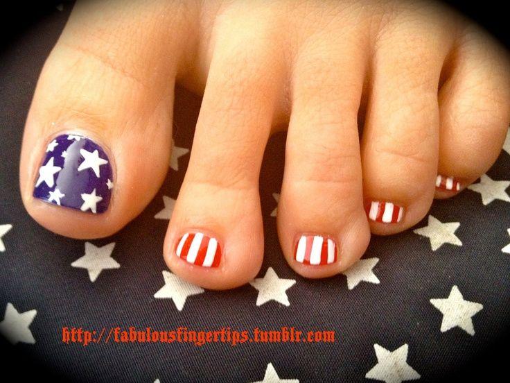 Pin by Dee Lindsay on Love Pretty Nails   Blue toe nails, Toe nail .
