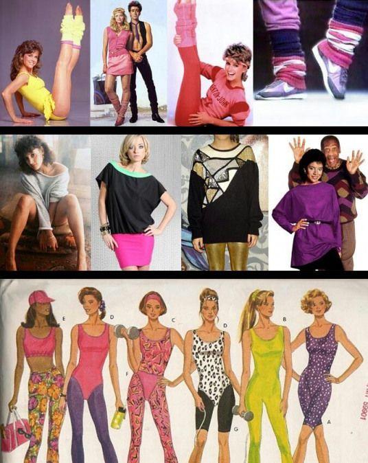 80's Fashion Outfit Ideas. #aerobicexercises #aerobic #exercises .