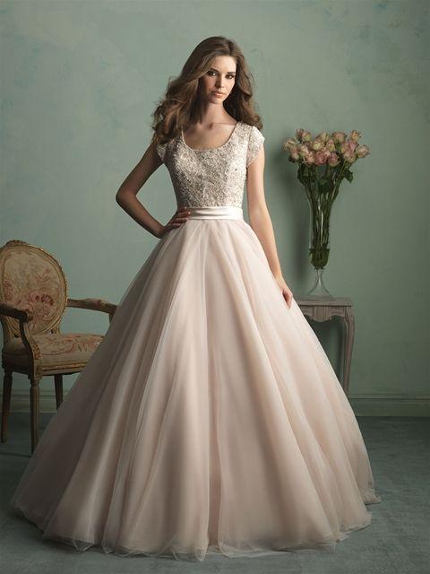 Style: M524 - Petals and Promises Bridal   Jessa duggar wedding .
