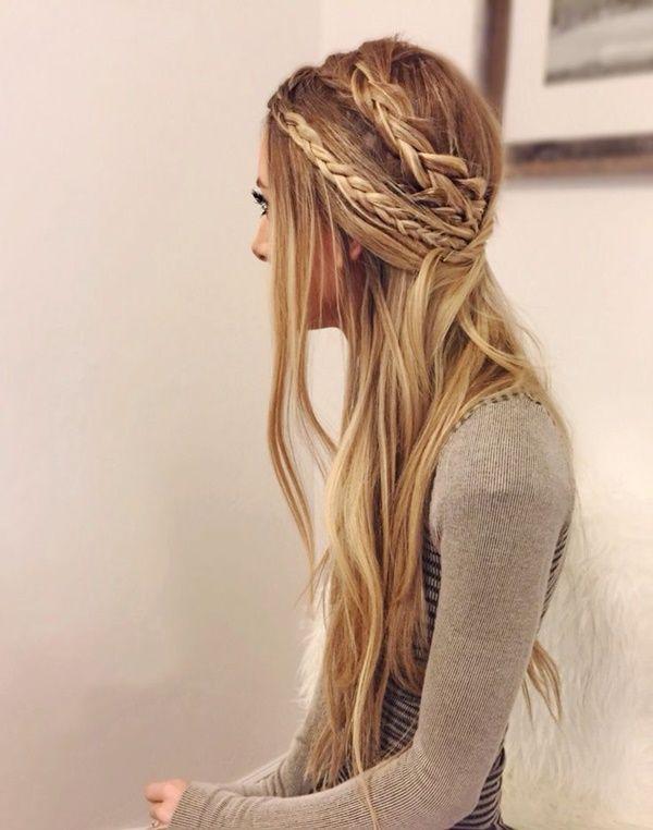 40 Adorable Hippie-Frisuren, damit Sie cool aussehen   Hair styles .
