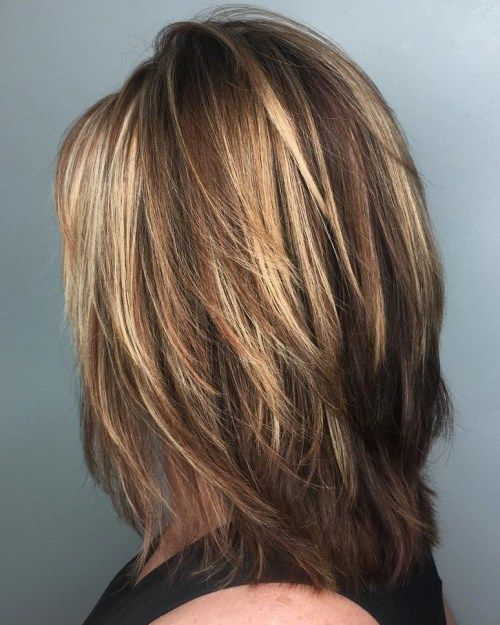 50 Best Medium Layered Haircuts - Hairstyles Fashion and Clothing .