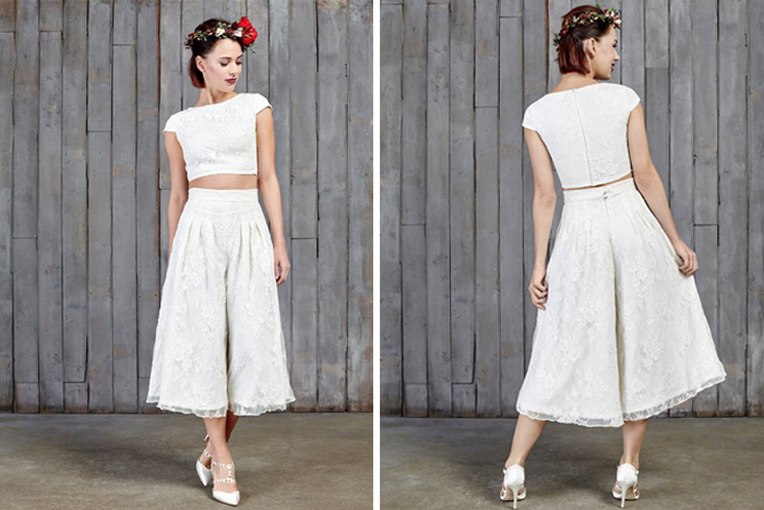 10 contemporary wedding outfits for non-conventional brid