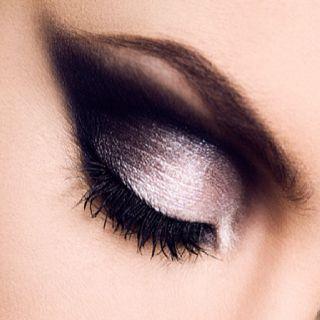 Instagram Insta-Glam: Metallic Shadow | Angel halloween makeup .