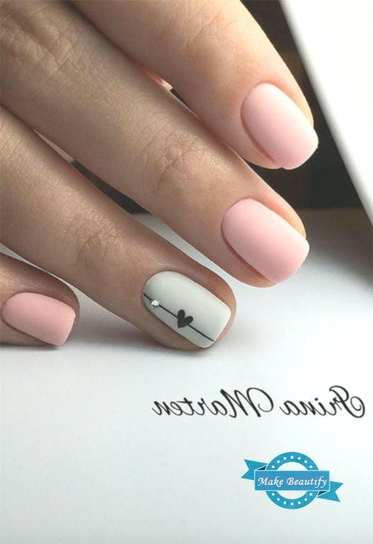 65 Awe-Inspiring Nail Art Designs for Short Nails | Short nail .