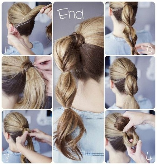 16 Simple and Chic Ponytail Hairstyles - Pretty Desig
