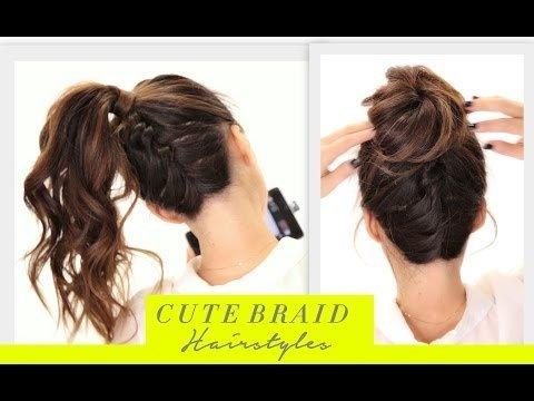 ☆Cute BRAIDS BACK-TO-SCHOOL HAIRSTYLES Hair Tutorial | Braided .