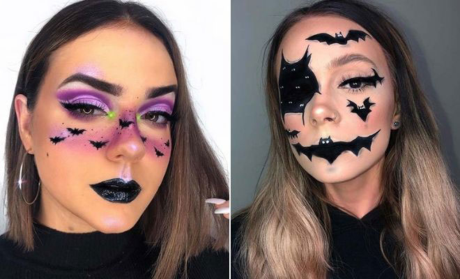 21 Bat Makeup Ideas for Halloween 2020 | StayGl