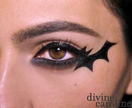 6 Quick and Easy Halloween Makeup Ideas - More | Halloween makeup .