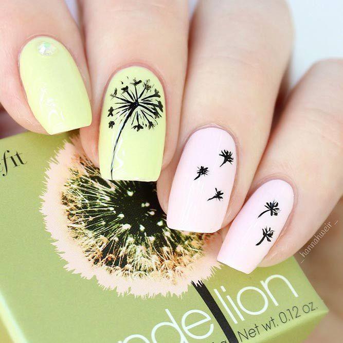 Daneloo   Gel nail art, Flower nail designs, Floral nai