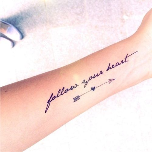 The Most Beautiful Quotes Tattoos for Women   Tattoos, Forarm .