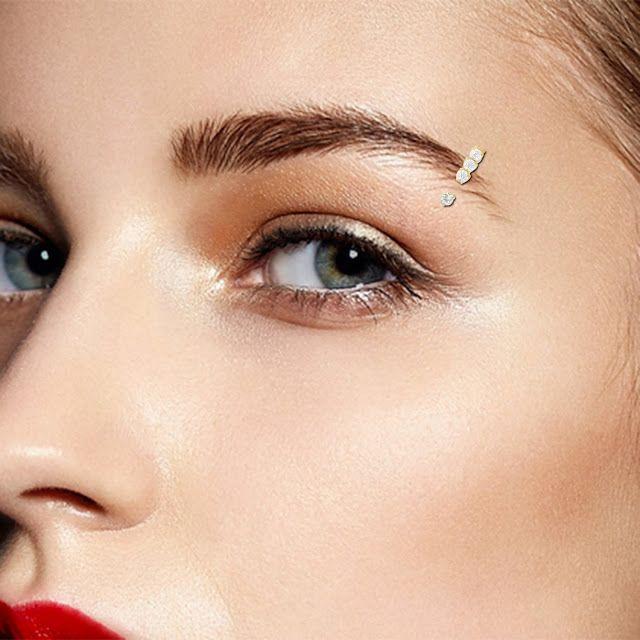 Best Modern Eyebrow Rings For Women   Eyebrow jewelry, Eyebrow .
